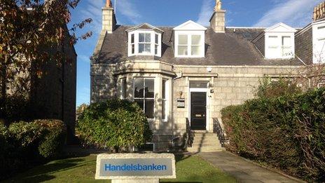 Handelsbanken's Aberdeen branch