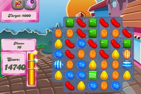 An image from Candy Crush Saga game