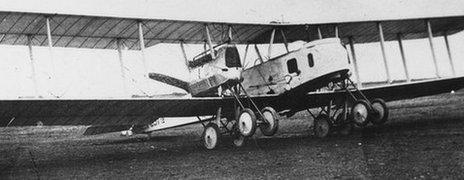 A Gotha bomber
