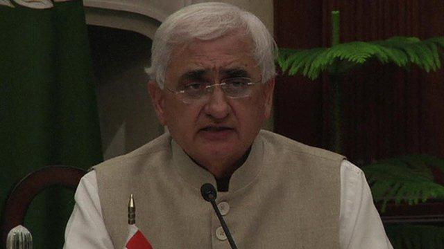 Foreign Minister Salman Khurshid