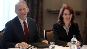 Dr Richard Haass and Meghan O'Sullivan