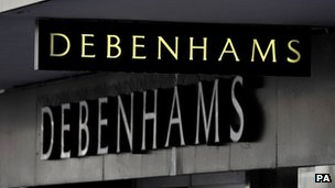 Debenhams branch