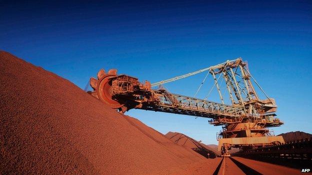 Mining in Western Australia - file image