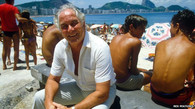 Ronnie Biggs in Rio, 1985
