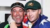 Darren Lehmann and Michael Clarke
