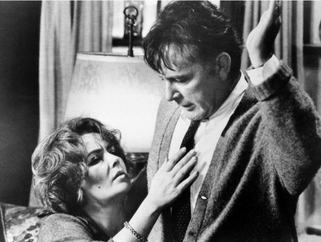 Elizabeth Taylor and Richard Burton in Who's Afraid of Virginia Woolf?