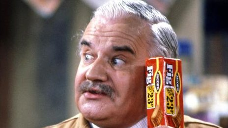 Ronnie Barker as Arkwright