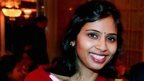 Devyani Khobragade at an event in New York