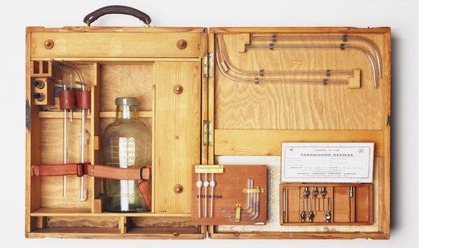 Blood transfusion apparatus, 1914-1918