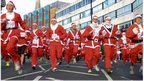 Isle of Man Santa Dash 2012 - Photo Steve Babb