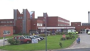 The Ramsey Unit in the grounds of Furness General Hospital, Barrow