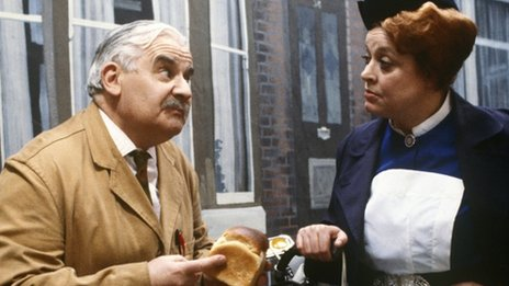 Arkwright and Nurse Gladys