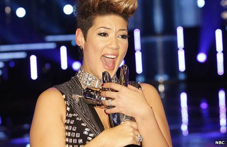 The winner of The Voice USA was announced as Tessanne Chin during