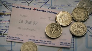 Tube ticket