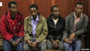 Suspects in court (12 November 2013)
