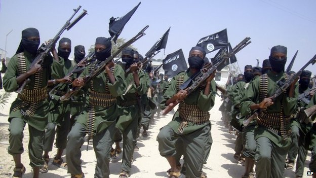 Al-Shabab fighters (file photo)