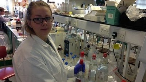 Rebecca Lass is a trainee scientist