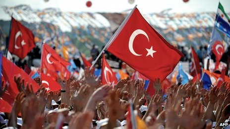 Istanbul rally for Turkish Prime Minister Recep Tayyip Erdogan, 16 June 2014