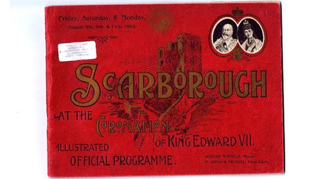 Special edition programme to celebrate the coronation of Edward VII (1902)