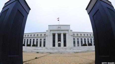 US Federal Reserve exterior