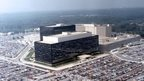This undated photo provided by the National Security Agency (NSA) shows its headquarters in Fort Meade, Maryland
