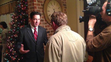 Mark Mardell talks to Chris McDaniel