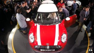 Unveiling of new Mini
