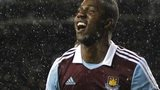 West Ham's Modibo Maiga celebrates scoring