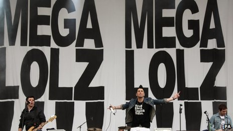 Lostprophets at the Reading festival