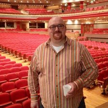 Pete Morgan at the Symphony Hall