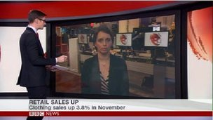 Screen grab from BBC News channel