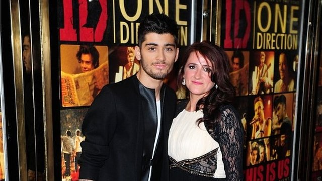 Zayn Malik With His Parents