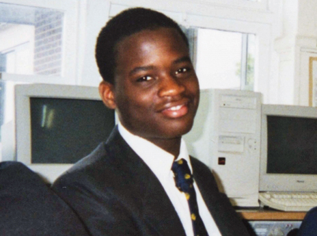 Michael Adebolajo as a schoolboy