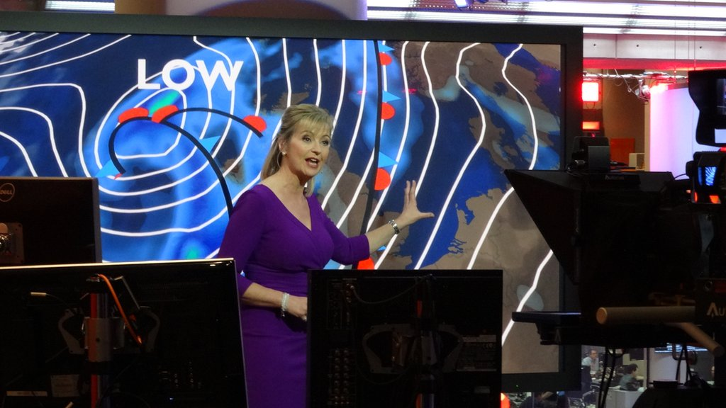 The BBC's Carol Kirkwood presents a guide to the ins and outs of reporting the weather.