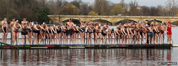 Serpentine swimmers