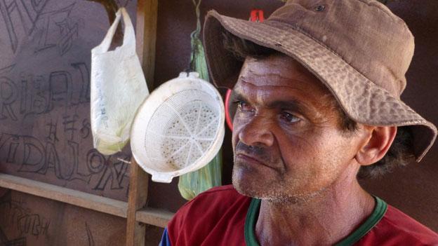 Damiao Oliveiro, quarry worker