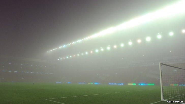 Liverpool fog