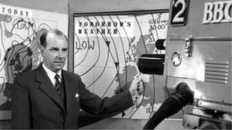 Weather forecast from the 1950s