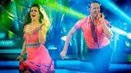 Susanna Reid and Kevin Clifton performing on Strictly