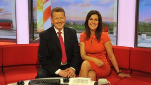 Susannah Reid and Bill Turnbull at BBC Breakfast
