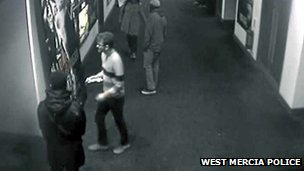 CCTV of Jamie Reynolds