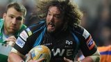 Ospreys prop Adam Jones