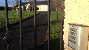 The teenagers were arrested at a house just outside Forkhill, close to the border, on Wednesday