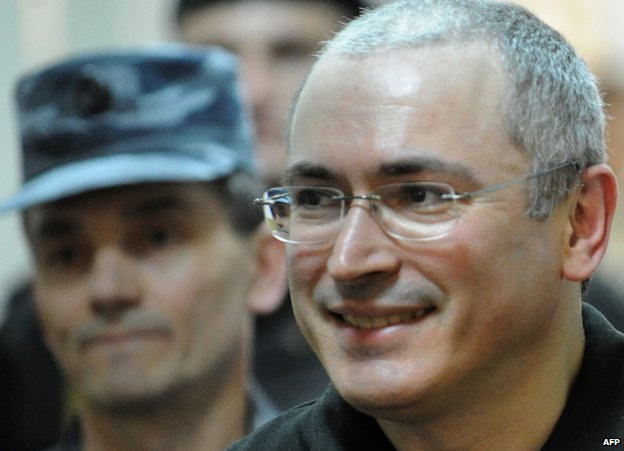 Mikhail Khodorkovsky in court in Moscow, 3 June 2011