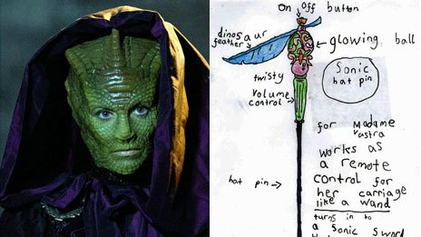 Vastra and her hair pin