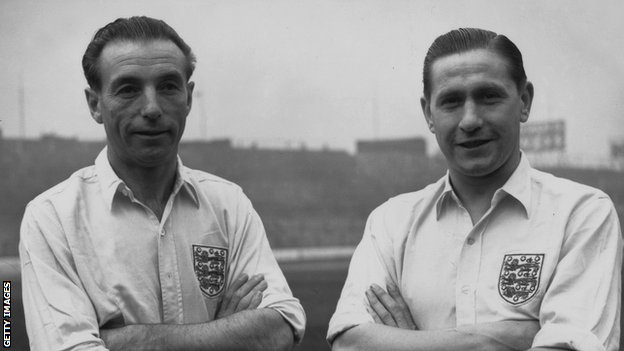 Stanley Matthews and Stan Mortensen