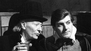 William Hartnell as Dr Who and Peter Purves as Steven Taylor