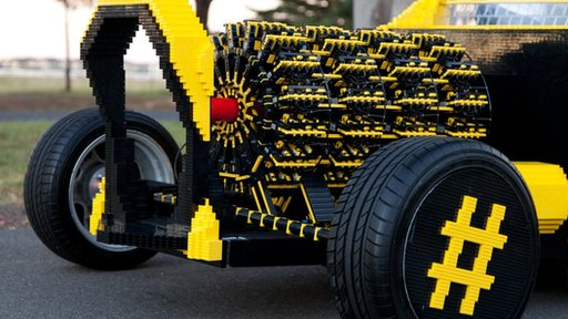 Engine of the Lego car