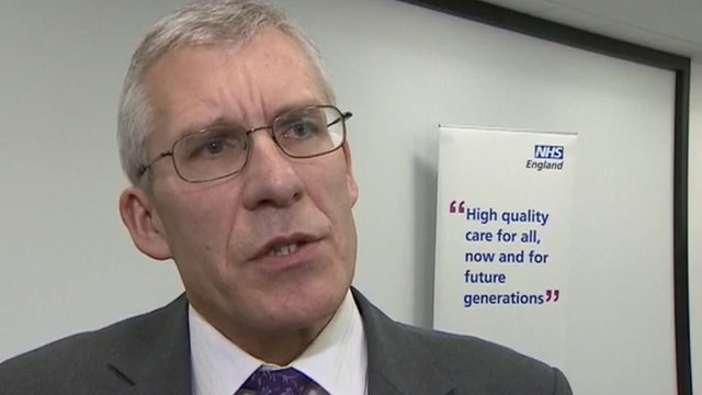 Dr Andrew Pike, Essex director of NHS England