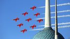 Red Arrows in Kuwait